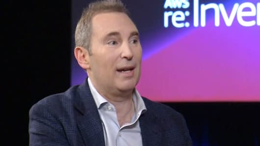 Andy Jassy, Amazon AWS