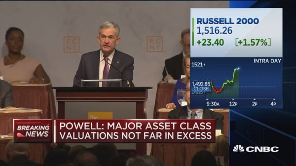 Fed chairman Powell says financial institutions and markets are more resilient than crisis