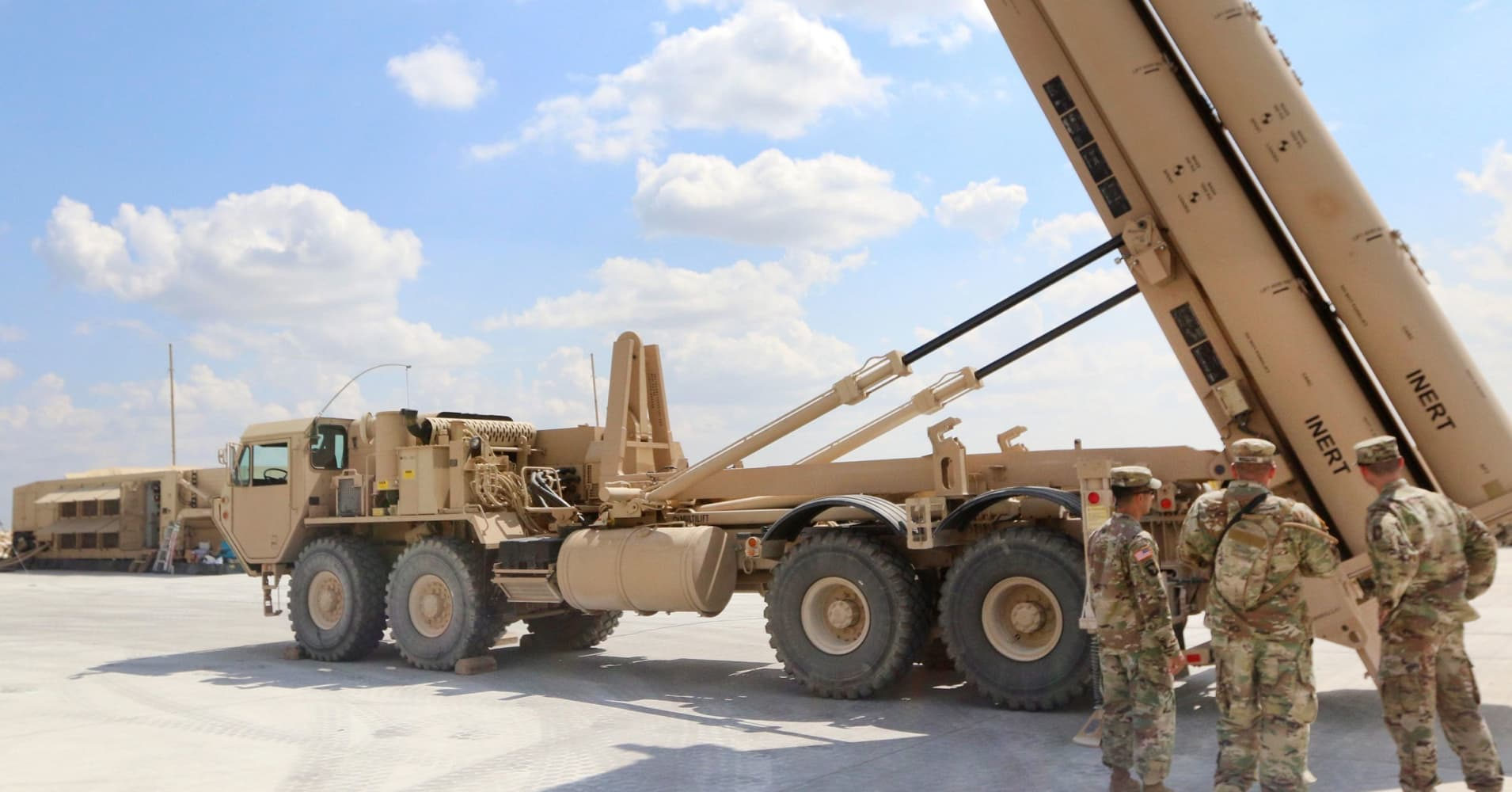Pentagon awards Lockheed Martin nearly $1 billion for Saudi missile system deal