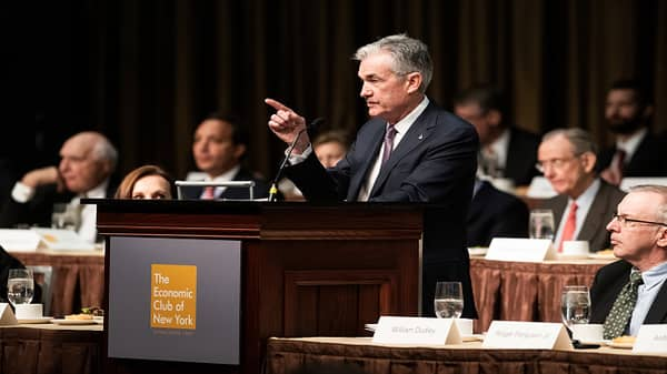 Powell says monetary policy not ideal to address financial stability