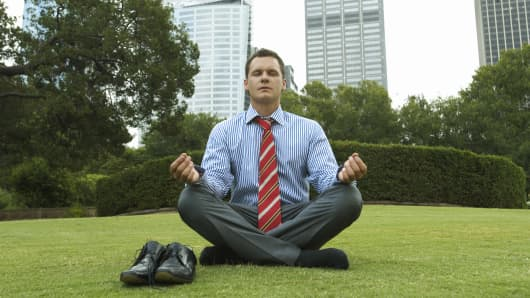 Getting stressed out may point investments in the wrong direction, so learn to control stress in a volatile market.