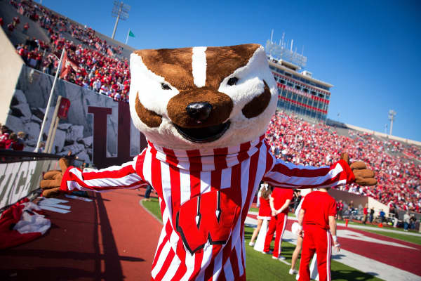 University of Wisconsin mascot, Bucky Badger