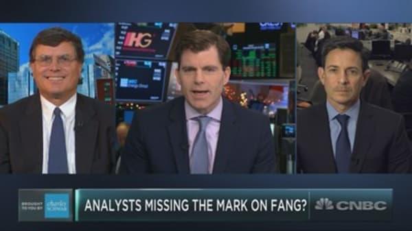 Are analysts too bullish on FAANG?