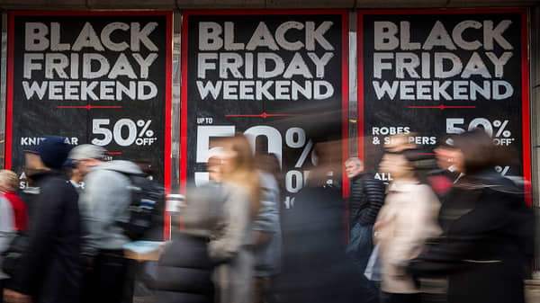Strong Black Friday sales aren't necessarily good for stocks