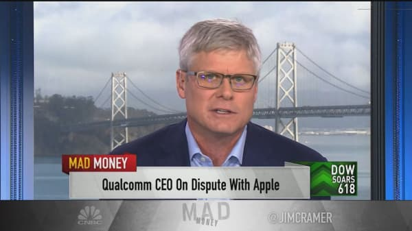 Qualcomm CEO: We're 'on the doorstep' of a resolution with Apple
