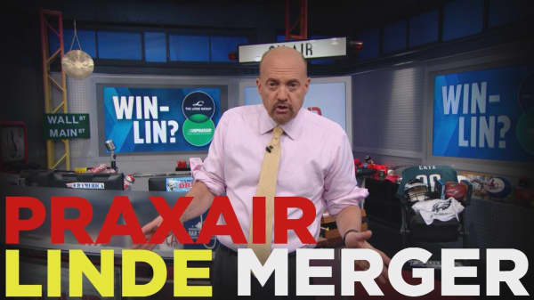 Cramer Remix: The Praxair-Linde deal is a double-edged sword