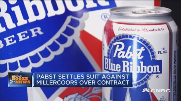 Pabst settles suit against Millercoors over contract