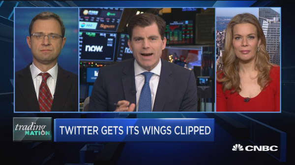 Trading Nation: Twitter's wings clipped