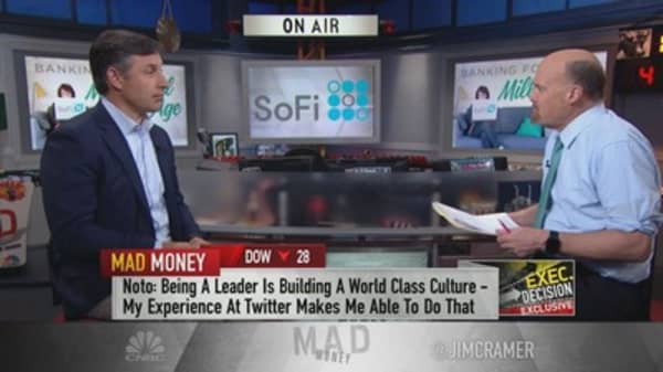 SoFi CEO Anthony Noto: Our loans 'have really strong risk controls'