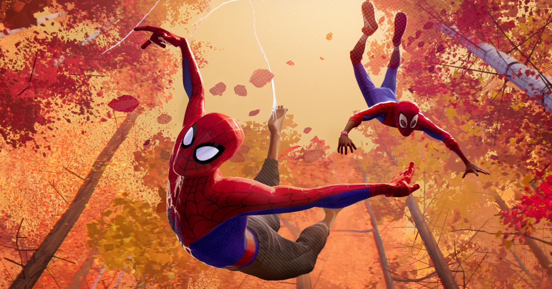 Sony Pictures is opening up a different Spider-Man universe - known as the Spider-Verse - where more than one can wear the mask.