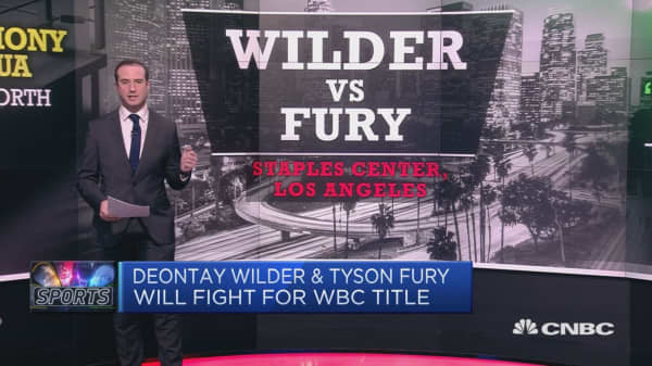 Boxing champions Wilder, Fury to face each other in heavyweight fight