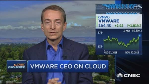 Cloud computing isn't a way-station to the future, it is the future, says VMWare CEO