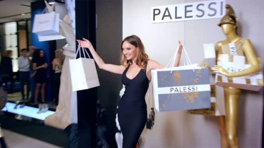 A scene from the Payless ShoeSource event