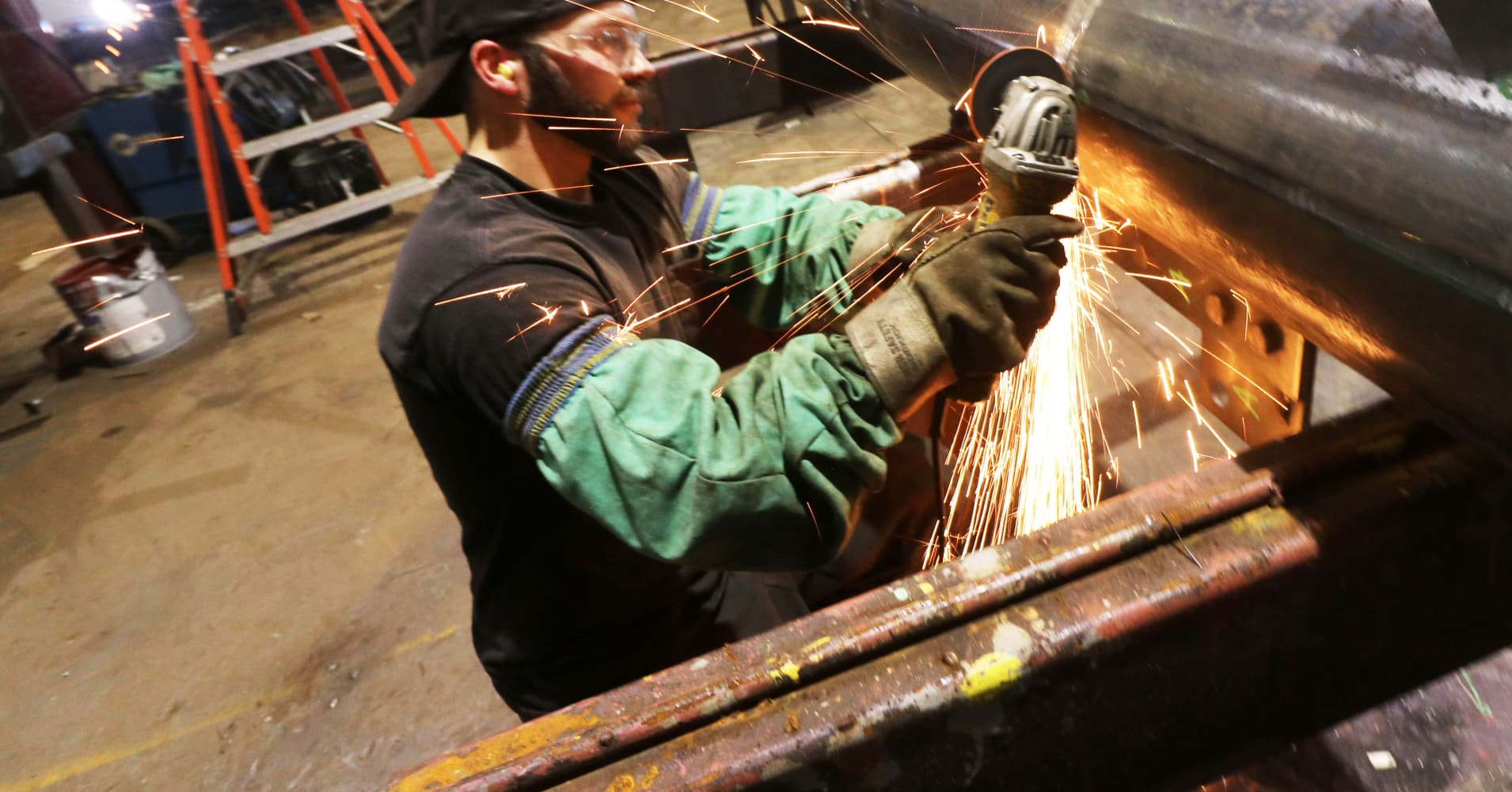 US factory activity jumps in November while construction spending falls for third month