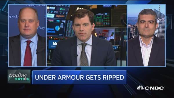 Trading Nation: Under Armour bulks up