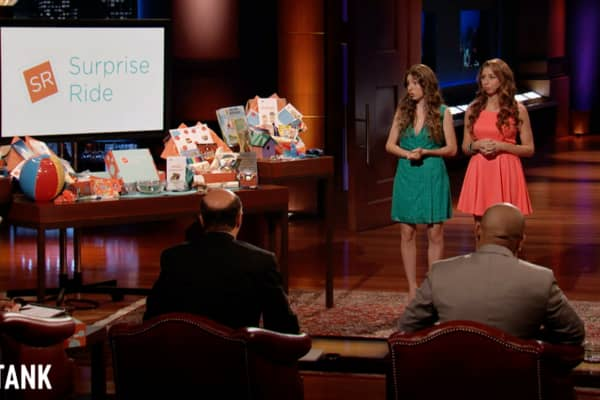 Co-founders of Surprise Ride talk about their unforgettable 'Shark Tank' pitch