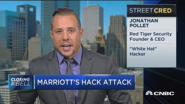 Marriott's passport breaches make it one of the worst data hacks, says cybersecurity expert.