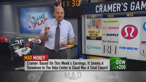 Cramer's game plan: A week defined by trade talks and employment