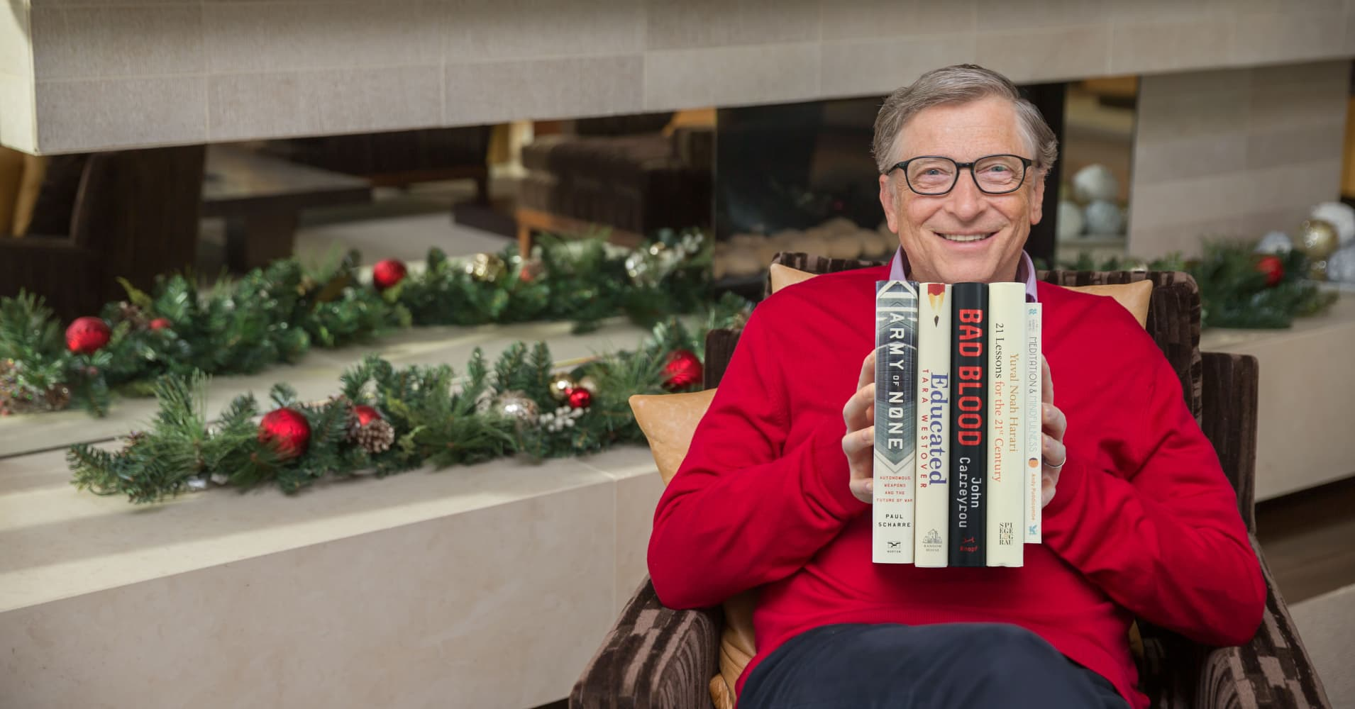 Bill Gates and his five favorite books of 2018