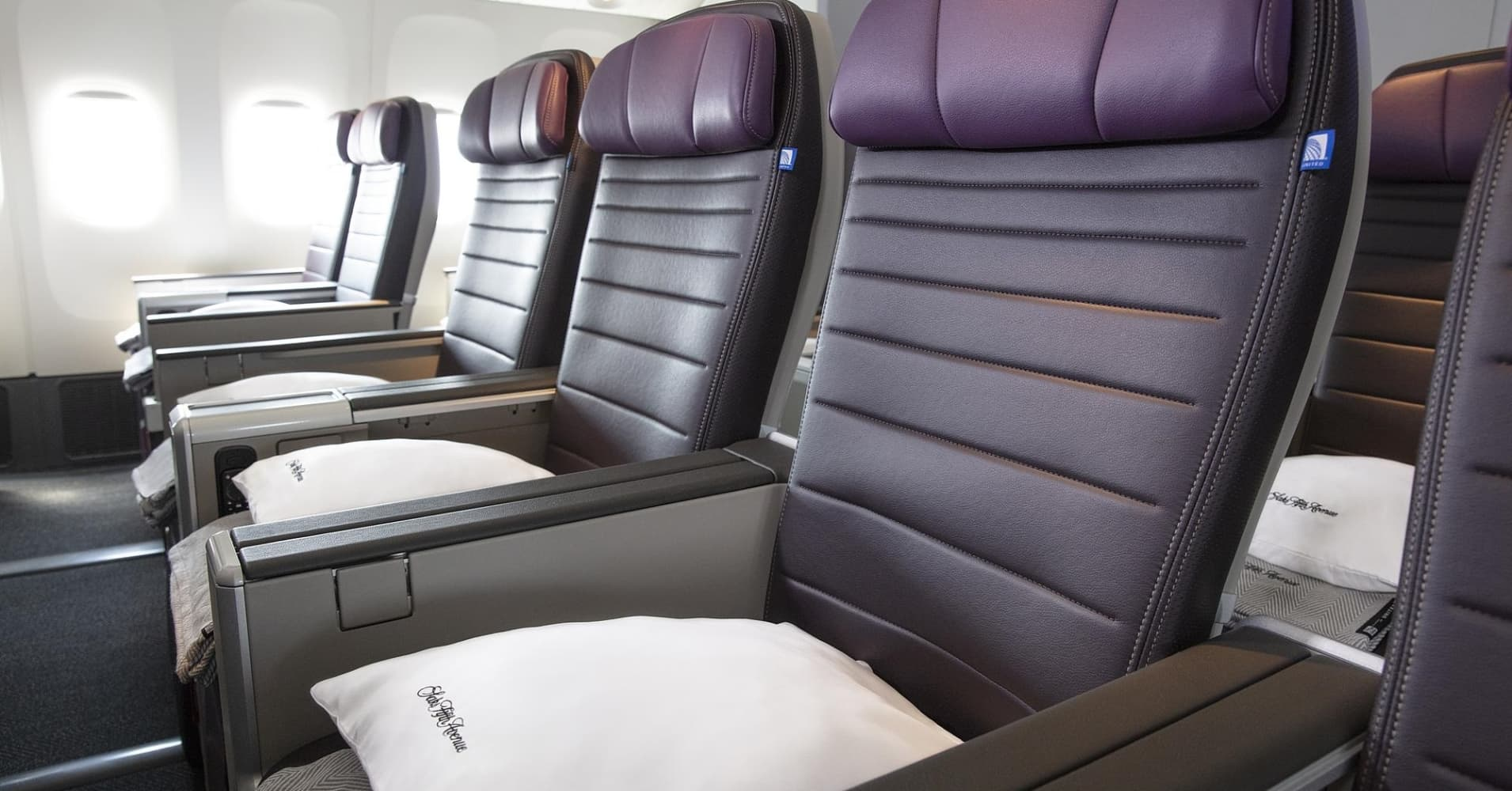 United launches new 'premium economy' class in between coach and business for some of its longest flights thumbnail