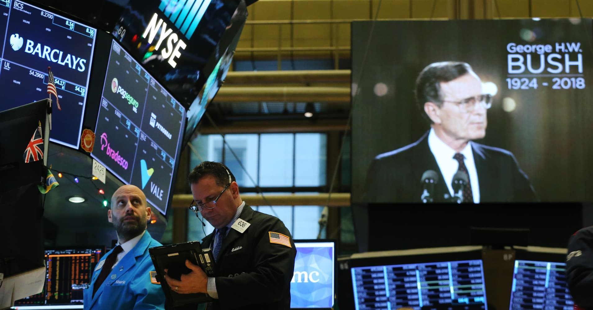 George HW Bush presided over third best S&P return for a GOP president