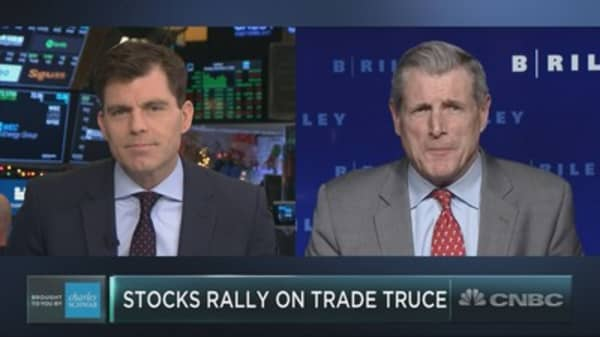 Wall Street can stop worrying about trade as headwind to gains: Wall Street bull Art Hogan