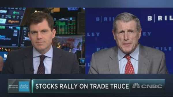 Wall Street bull Art Hogan sees trade truce as catalyst for year-end market rally
