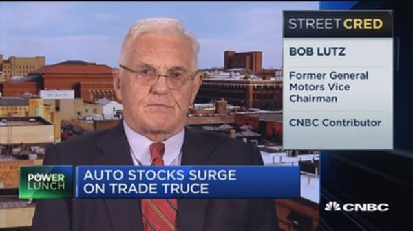 Trump's addressing a wrong that's gone on for decades: Former GM vice chair on auto tariffs
