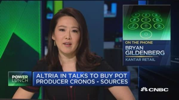 Altria hedges its bets with potential acquisition of Canadian pot company Cronos: Pro