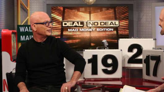 Howie Mandel, host of Deal or No Deal visits Jim Cramer on Mad Money on Dec. 3rd, 2018.