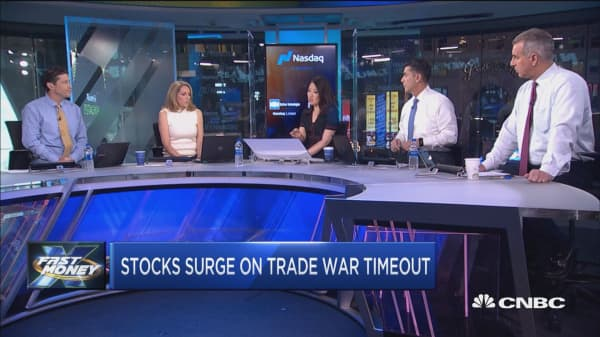 Stocks surge on trade war timeout, but will the party last?