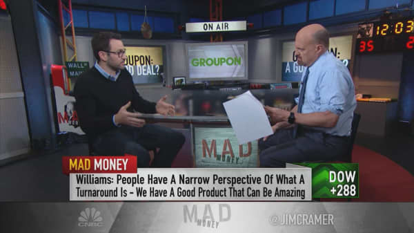 Groupon CEO on AMC partnership, transforming his platform into a 'utility'