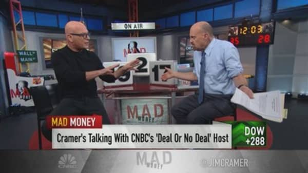 'Deal or No Deal' host Howie Mandel tells Jim Cramer he's 'needed,' because most contestants don't know what to do with money
