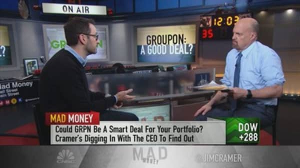 Groupon CEO on transforming platform into a 'utility,' AMC partnership
