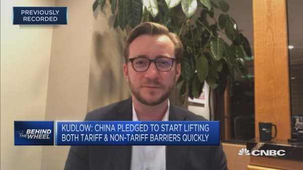Discussing the impact of a reduction in China's auto tariffs