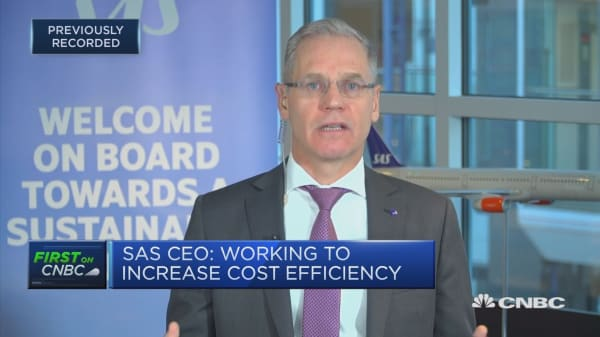 Recognize the environment is an 'existential issue,' SAS CEO says