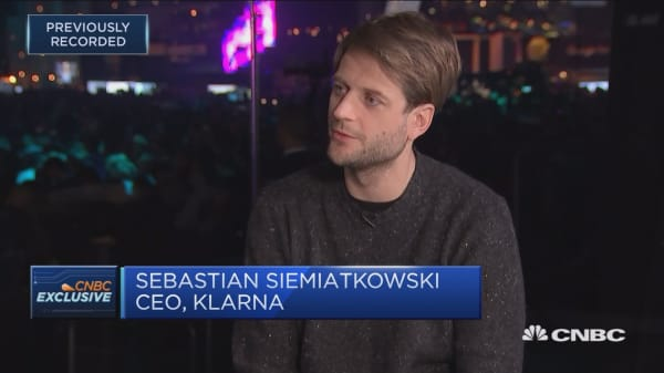 Klarna CEO: See 'massive disruption' to retail banking in next 5 years
