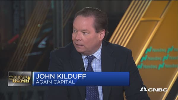 A lot of the hot money in oil market has come out already, says Again Capital 's Kilduff