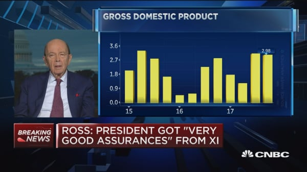 Wilbur Ross says the US economy is very strong