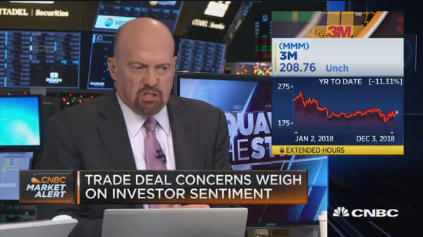 Chinese can keep having these talks, but we don't want to deal with it, says Cramer