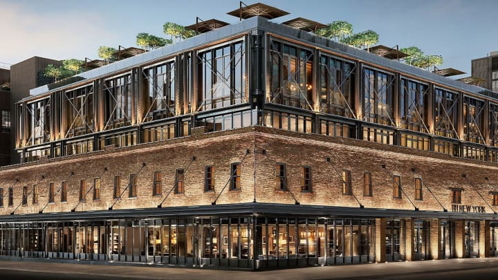 Restoration Hardware store in the Meatpacking District of New York.