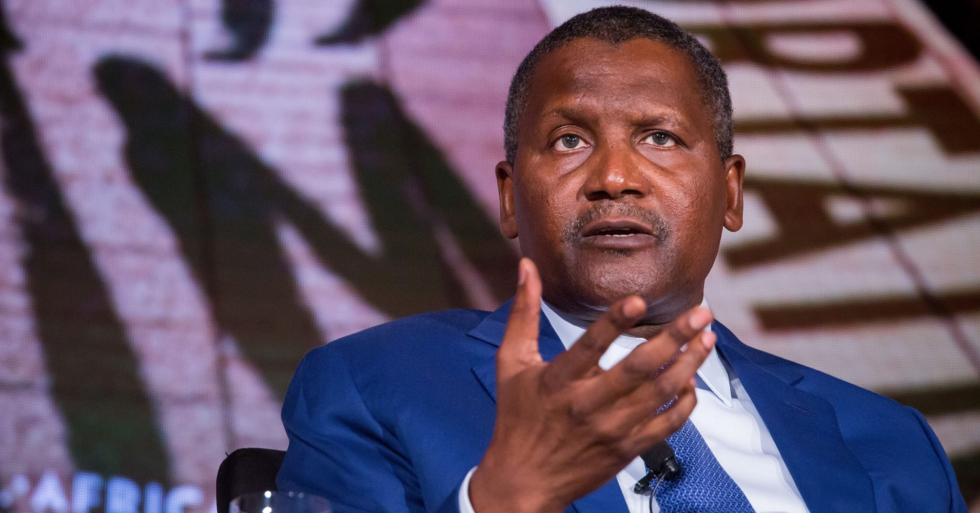 Aliko Dangote: Photo: CNBC