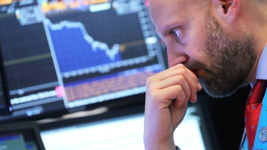 Market sell off set to continue as Dow futures get hit