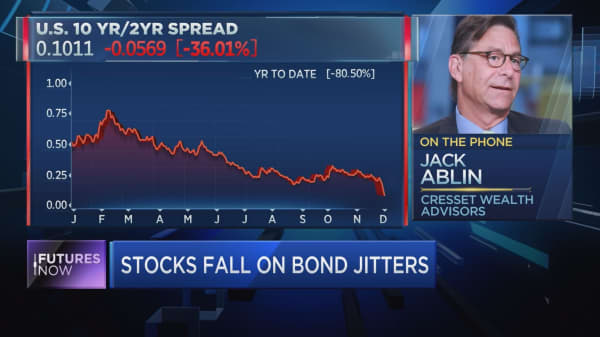 Market veteran Jack Ablin calls treasury yield inversion 'noise'