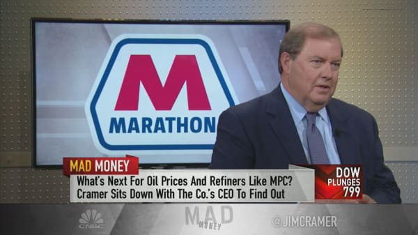 Marathon CEO US Well On Its Way To Trump's Goal Of 'energy Dominance' Inspiration Marathon Oil Stock Quote