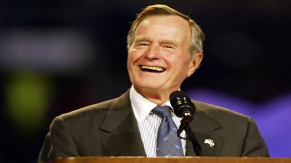 No one had a greater sense of humor than Bush, says former press secretary