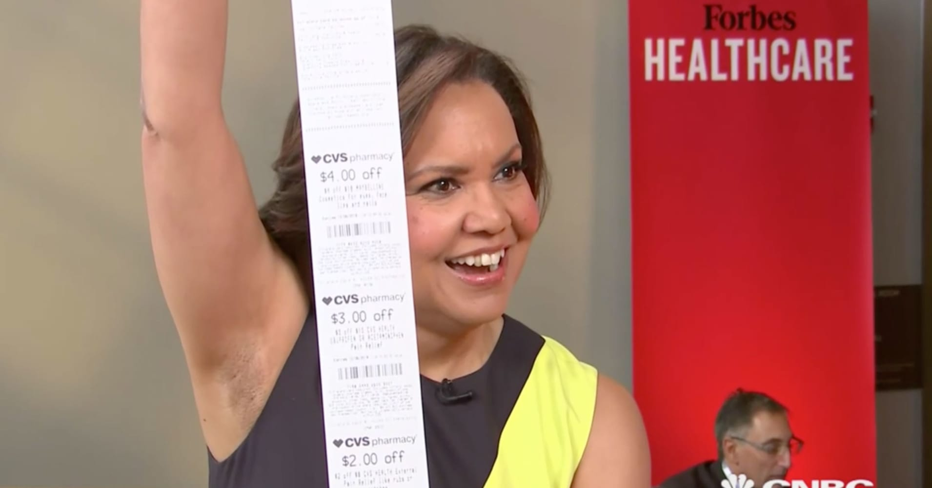 CVS CEO has a fix for those mile-long receipts — here's how it works
