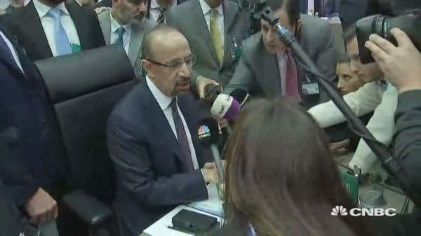 Risk of no OPEC deal is real, Saudi energy minister says