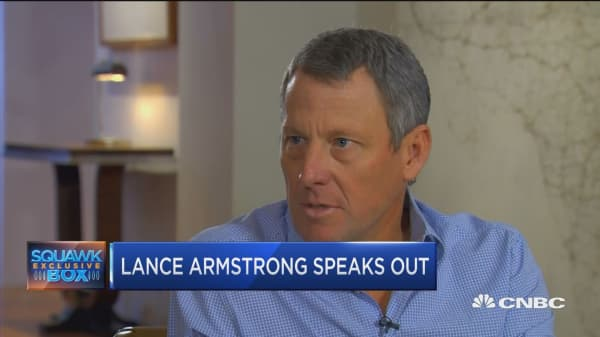 Lance Armstrong on his cover-up and venture capital fund