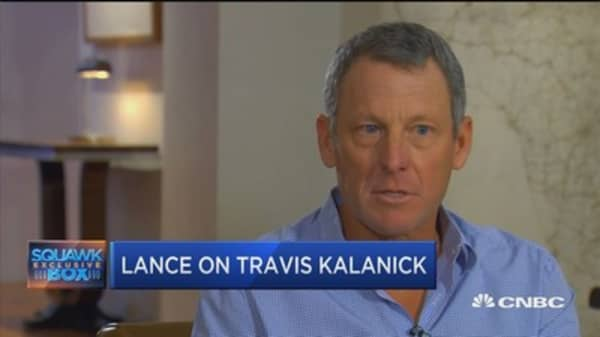 Lance Armstrong on escaping a 100 million dollar lawsuit and Uber